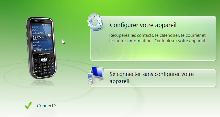 Installation d'un terminal Windows Mobile - Inventif - iodeSoft